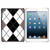 Argyle Hipster Black White - Preppy iPad Mini Case