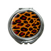 Leopard Animal Print Compact Mirror