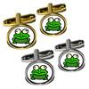 Frog Toad Round Cufflinks