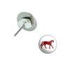 Horse Pierced Stud Earrings