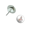 Unicorn Pierced Stud Earrings