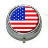 American USA Flag Pill Box
