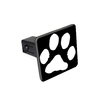 Paw Print Tow Hitch Cover