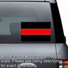 Thin Red Line Stickers