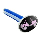 Pink 4x4 Truck Off-Road Car Air Freshener Vent Clip