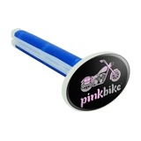 Pink Bike Motorcycle Chopper Logo Car Air Freshener Vent Clip
