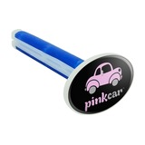 Pink Car Logo Car Air Freshener Vent Clip