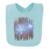 Fox Fur Nebula Monoceros Constellation Galaxy Baby Bib