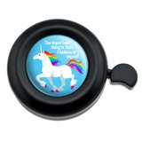 Unicorn The Important Thing is That I Believe in Myself Bicycle Handlebar Bike Bell