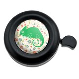 Chameleon Floral Wallpaper Bicycle Handlebar Bike Bell
