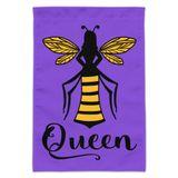 Queen Bee Garden Yard Flag