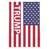 President Trump American Flag Garden Yard Flag