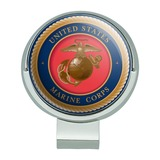 Marine Corps USMC Emblem Officially Licensed Golf Hat Clip With Magnetic Ball Marker