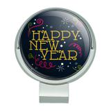 Happy New Year Golf Hat Clip With Magnetic Ball Marker