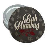 Bah Humbug Christmas Funny Round Rubber Non-Slip Jar Gripper Lid Opener