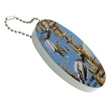 Ducks in the Lake and in Flight Floating Foam Keychain Fishing Boat Buoy Key Float