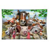 Farm Selfie Horse Pig Chicken Donkey Cow Sheep Home Business Office Sign