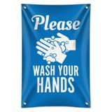 Please Wash Your Hands Home Business Office Sign