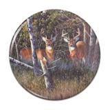 Deer in the Woods Compact Pocket Purse Hand Cosmetic Makeup Mirror