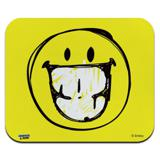 Smiley Smile Sketchy Grin Low Profile Thin Mouse Pad Mousepad