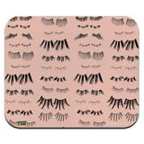 All the Eye Lashes Pattern Low Profile Thin Mouse Pad Mousepad
