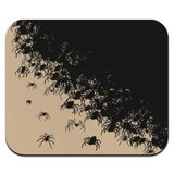Hundreds of Spiders Arachnophobia Low Profile Thin Mouse Pad Mousepad