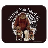 Should You Need Us Labyrinth With Ludo Hoggle and Didymus Low Profile Thin Mouse Pad Mousepad