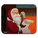 Santa Claus Christmas List Low Profile Thin Mouse Pad Mousepad