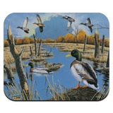 Ducks in the Lake and in Flight Low Profile Thin Mouse Pad Mousepad