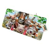 Farm Selfie Horse Pig Chicken Donkey Cow Sheep Novelty Metal Vanity Tag License Plate