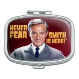 Never Fear, Smith is Here! Lost in Space Doctor Rectangle Pill Case Trinket Gift Box