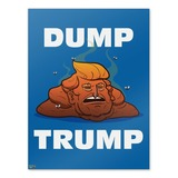Dump Donald Trump with Poop Home Business Office Sign