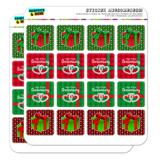Our First Christmas Anniversary Holiday Present Planner Calendar Scrapbooking Crafting Square Stickers