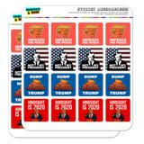 Donald Trump Anti Impeach Dump Not My President Planner Calendar Scrapbooking Crafting Square Stickers