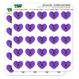 Queen Bee Heart Shaped Planner Calendar Scrapbook Craft Stickers