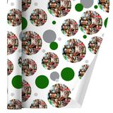 Farm Selfie Horse Pig Chicken Donkey Cow Sheep Premium Gift Wrap Wrapping Paper Roll