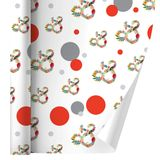 Ampersand & Floral Premium Gift Wrap Wrapping Paper Roll