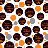 Happy Halloween Holiday Pumpkin Jack-o-lantern Bats Premium Gift Wrap Wrapping Paper Roll