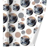 Big Large Happy Pig Hog Premium Gift Wrap Wrapping Paper Roll