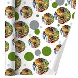 Dinosaurs Jurassic Collage T-Rex Stegasaurus Premium Gift Wrap Wrapping Paper Roll