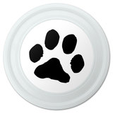 "Paw Print Pet Dog Cat Novelty 9"" Flying Disc"