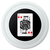 "Playing Cards Jack of Hearts Novelty 9"" Flying Disc"