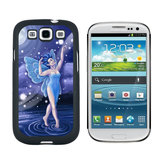 Blue Dancing Fairy - Moonlit Night Faerie Fae Galaxy S3 Case