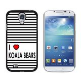 I Love Heart Koala Bears Galaxy S4 Case