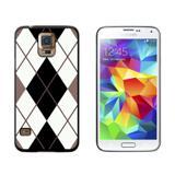 Argyle Hipster Black White - Preppy Galaxy S5 Case