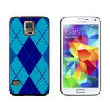 Argyle Hipster Blue - Preppy Galaxy S5 Case