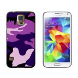 Purple Camouflage Army Soldier Galaxy S5 Case