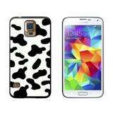 Cow Print Black White Galaxy S5 Case