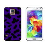 Cow Print Purple Galaxy S5 Case