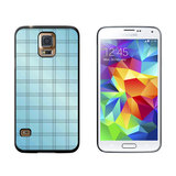 Mad for Plaid Blue Galaxy S5 Case